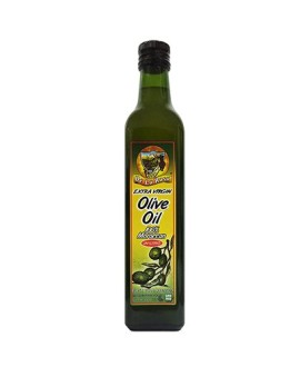 De La Rosa Kosher Moroccan Unfiltered Extra Virgin Olive Oil - 16.9 oz-500 ml