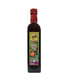 De La Rosa Kosher Organic Italian Red Wine Vinegar - 500 ml - Pack of 12